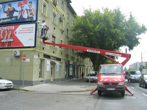 18 méteres Mercedes